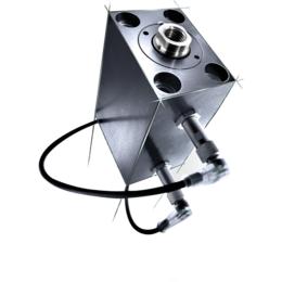 德国进口AHP MARKLE品牌带触点式感应开关的方形液压缸