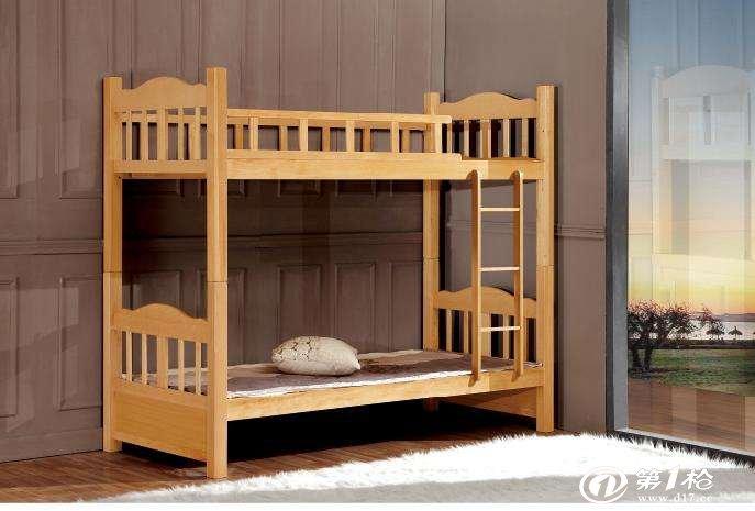 江西校具实木双人床