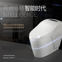 智能马桶一体式 家用全自动感应冲洗遥控坐便器缩略图