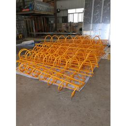 厂家直销自行车停放架不锈钢碳素钢卡位式停放架