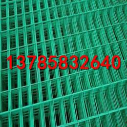 草绿色道路两侧铁丝网   绿化带隔离防护网  双边丝护栏网