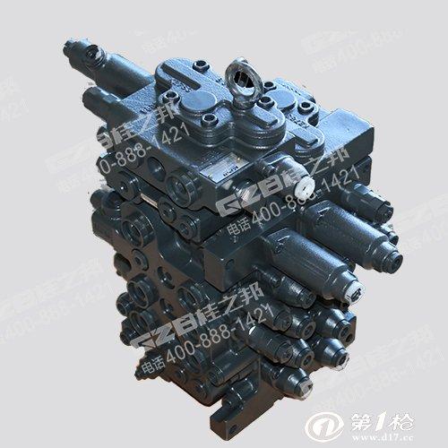 广东原装挖机川崎液压多路阀 沃尔沃履带挖掘机配件图片