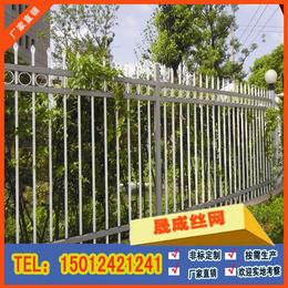 高要围墙栏杆加工生产 1.8米高外墙防护栏 小区隔离网
