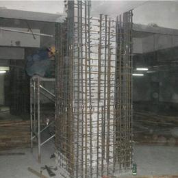结构加固设计施工 柱子加大截面