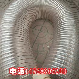 上海大口径pu聚氨酯软管多少钱一米