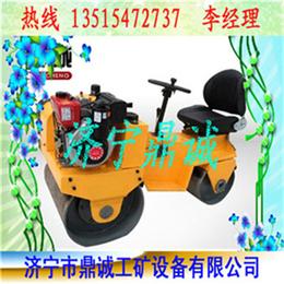 和谐生活新成员 购买小型柴油座驾式振动压路机