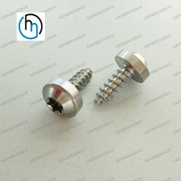 厂家直销各种钛标准件钛螺钉螺丝来图定制非标钛加工件