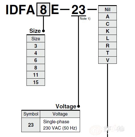 供应日本smc冷干机idfa15e-23
