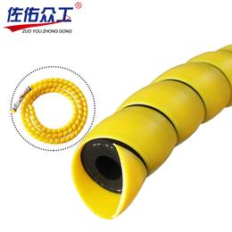 厂家直销 螺旋电线保护套 塑料护套 耐磨抗老化液压管保护套