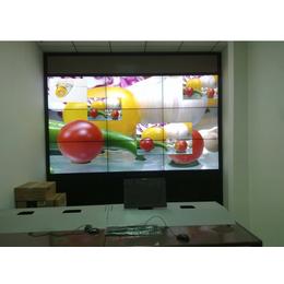 海口三星55寸高清3.5mm液晶拼接屏OEM大屏幕拼接墙整机
