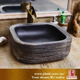 创意艺术洗脸盆 家用台上洗手盆 方形圆形台上盆