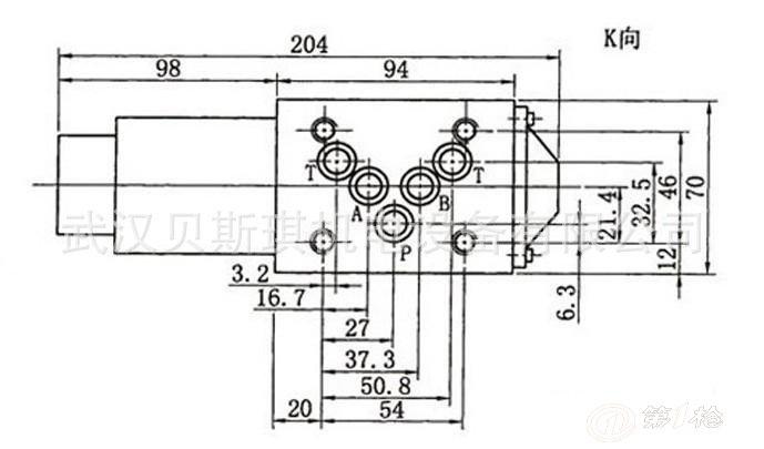 供应34e0-h10b-t联和型电磁阀 油研电磁阀 液压电磁阀图片