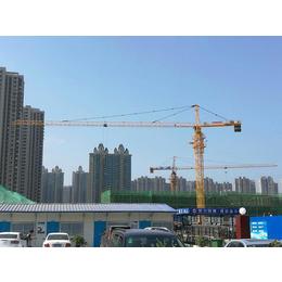 汇友塔机公司生产四川南充QTZ50塔吊价格方管塔身