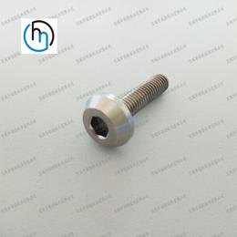 河南标准件厂家高品质伞型钛螺丝刀把螺丝蘑菇头内六角钛螺钉订制