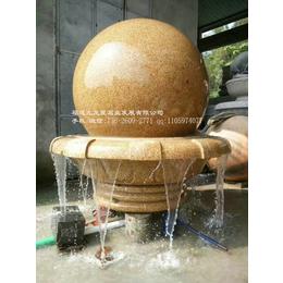 惠安石雕风水球厂家销售别墅庭院风水球室外喷泉雕塑