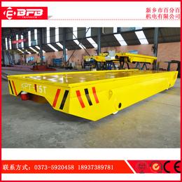 轨道电动搬运设备厂家 KPT拖缆轨道电动运输轨道平车