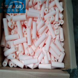 纯白色百洁布海绵柱子 清洁海绵射弹去污垢海绵定做