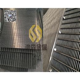 供应304材质条缝筛板楔形丝过滤网