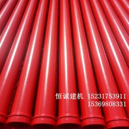 恒诚牌3米无缝低压地泵管壁厚4.5管径125河北沧州厂家价格