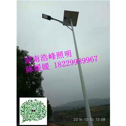 湖南龙山县太阳能路灯价格吉首市太阳能路灯安装