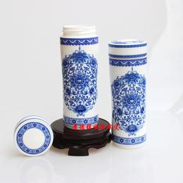 供应加印logo保温杯餐具定制年会陶瓷礼品奖品