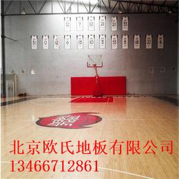 北京欧氏地板新款体育木地板