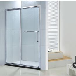 佛山淋浴房厂家热销新款不锈钢方型卫生间吊趟门BR002淋浴门