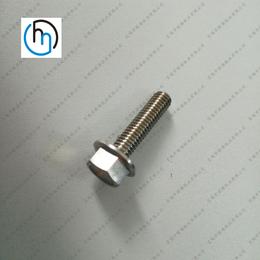 亚博国际版 定做法兰面钛螺丝 非标法兰螺丝 外六角法兰面螺丝