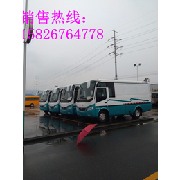 东风超龙6米蓝牌厢式货车配置图片参数价格国五