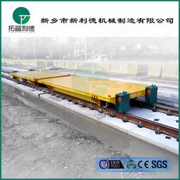 上海无轨平车图片非标制作无动力平板车免检设备