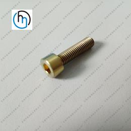 M5钛螺丝圆柱头内六角钛螺栓标准件非标螺丝多种规格厂家批发