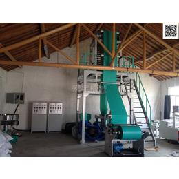 供应优质快递袋生产万博manbetx官网登录800型双层共挤快递袋吹膜机