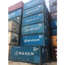 上海二手集装箱二手6米集装箱低价出售