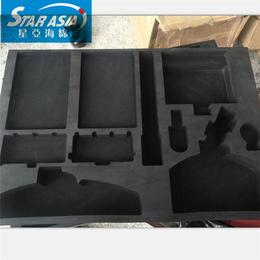 表面彩色EVA飞行器  组件包装盒雕刻 贴磁海绵EVA定制