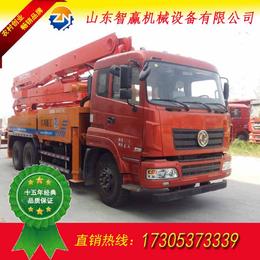 中小型26-34米混凝土泵车对比图 小泵车耐用运行平稳
