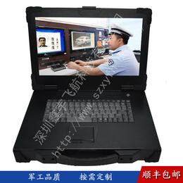 15寸新款黑色工业便携式机箱军工定制外壳铝加固笔记本电脑