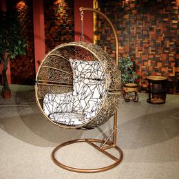 供应厂家直销7104 躺椅摇椅吊床庭院藤椅 单人吊篮