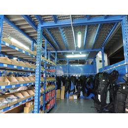 赣州汽配库货架亚博国际版货架专供汽配行业使用的阁楼