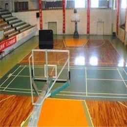 北京欧氏地板新款现代篮球木地板