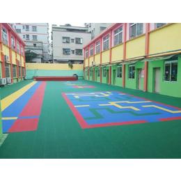 幼儿园彩色拼装地板 拼图设计安装一站式服务 深圳拼装地板厂家