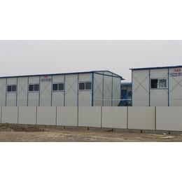 低价岩棉板北京彩钢房 焊接式防风石景山彩钢房