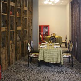 升耀装饰 餐厅内部复古装修案例缩略图