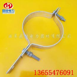 光缆金具光缆抱箍   拉线金具拉线抱箍  电线杆夹具型号规格