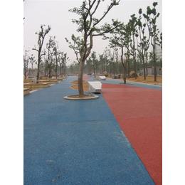 彩色透水混凝土工艺流程