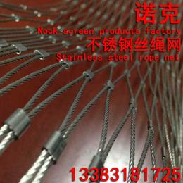 诺克 不锈钢绳网 交叉编织绳网 绿植攀爬绳网 植物攀爬网