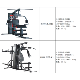 深圳进秋体育 综合训练器 室内健身器材报价