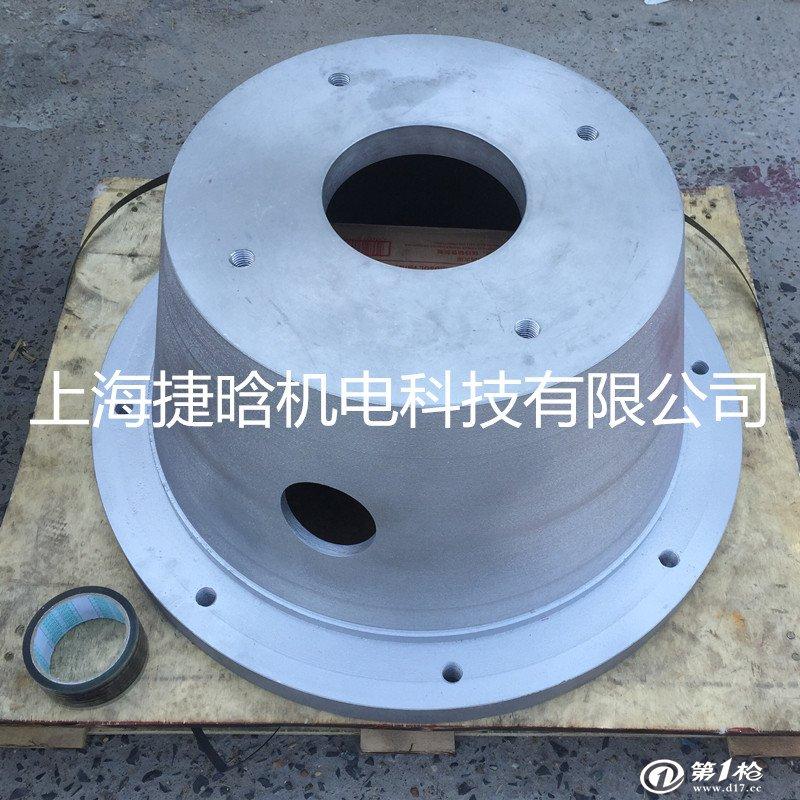 液压电机泵支架 pk300型铝合金泵套 配25cy柱塞泵   上海油泵支架 概图片