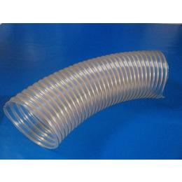 PU透明钢丝软管  食品级输酒软管