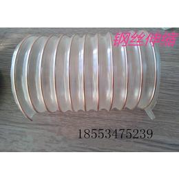 丰荣生产大口径PU钢丝软管