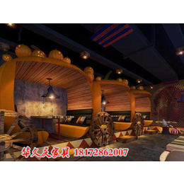 江西时尚餐厅卡座沙发会所酒店卡座火锅店卡座订做缩略图